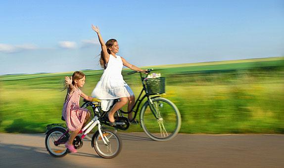 vom fahrradfahren abnehmen